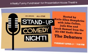 All-Star Stand-Up Comedy Night <br> with Comedians from CBC's The Debaters @ Presentation House Theatre