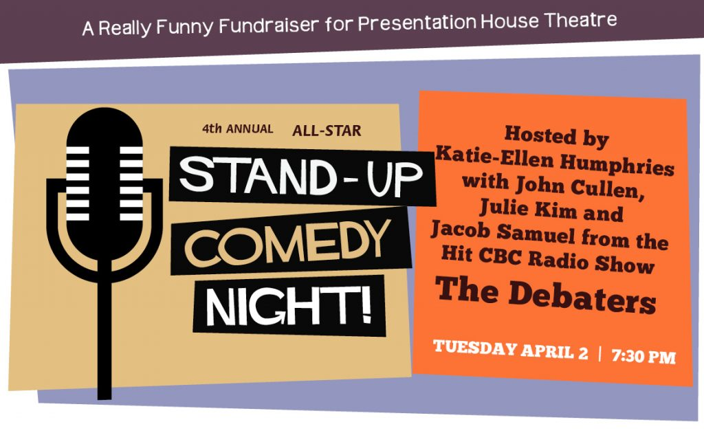 DEBATERS ALL-STAR STAND-UP COMEDY NIGHT <br> April 2 2019