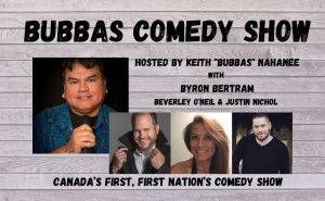 LIVESTREAM: Bubbas Comedy Show @ Presentation House Theatre